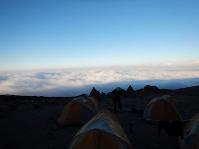 Morning at Karanga Camp, 13,100'.
