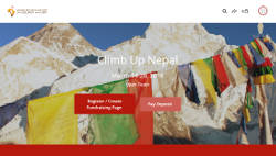 climb up nepal fundraising page
