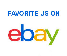 Favorite us on eBay