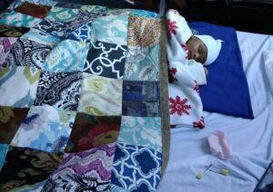 Newborn Baby at Mercy Maternity Ward in Mombasa, Kenya